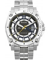 Buy Bulova Mens Precisionist Champlain Silver Watch online