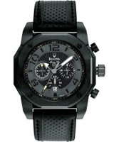 Buy Bulova Mens Marine Star Chronograph Black Watch online