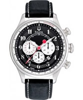 Buy Bulova Mens ADVENTURER Chronograph Black Watch online