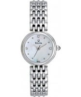 Buy Bulova Ladies Diamonds Bracelet Watch online