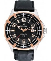 Buy Bulova Mens Dress Black Watch online