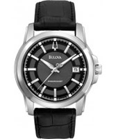 Buy Bulova Mens Precisionist Black Watch online