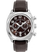 Buy Bulova Mens Adventurer Chronograph Brown Watch online
