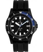 Buy Bulova Mens Marine Star Black Watch online