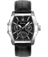 Buy Bulova Mens Dress Black Chronograph Watch online