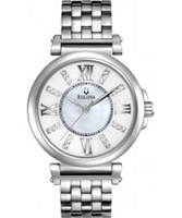 Buy Bulova Ladies Diamonds Silver Watch online