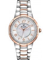 Buy Bulova Ladies Diamonds Rosedale Watch online
