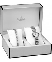 Buy Bulova Ladies Crystal Box Set online