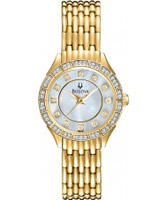 Buy Bulova Ladies Precisionist Gold Watch online