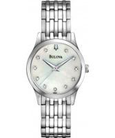 Buy Bulova Ladies Diamonds Bracelet Watch online