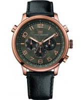 Buy Tommy Hilfiger Mens Black Tyler Watch online