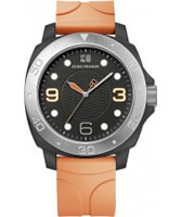Buy BOSS Orange Mens Orange and Black H-2300 Watch online