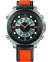 Buy BOSS Orange Mens Black and Orange H-6700 Watch online