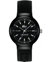 Buy Lacoste Mens Black Borneo Watch online