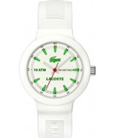 Buy Lacoste Mens White Borneo Watch online