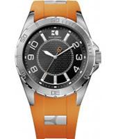 Buy BOSS Orange Mens Orange and Black H-2310 Watch online
