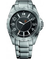 Buy BOSS Orange Mens Black and Silver H-2310 Watch online