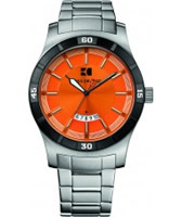 Buy BOSS Orange Mens Orange and Silver H-2102 Watch online