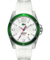 Buy Lacoste Mens White Seattle Watch online