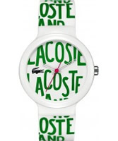 Buy Lacoste White Goa Watch online