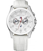 Buy Tommy Hilfiger Ladies White Taylor Chronograph Watch online