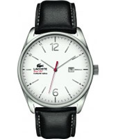 Buy Lacoste Mens White and Black Austin Watch online