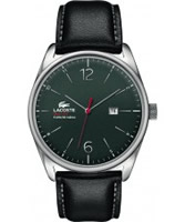 Buy Lacoste Mens Grey and Black Austin Watch online