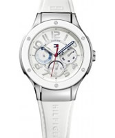Buy Tommy Hilfiger Ladies White Ainsley Chronograph Watch online