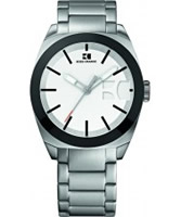 Buy BOSS Orange Mens White and Silver H-0300 Watch online