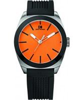 Buy BOSS Orange Mens Orange and Black H-0300 Watch online