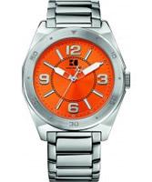 Buy BOSS Orange Mens Orange and Silver H-7008 Watch online