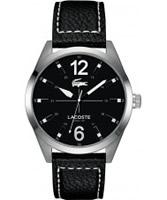 Buy Lacoste Mens Black Montreal Watch online