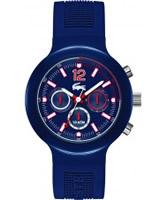 Buy Lacoste Mens Blue Borneo Chronograph Watch online