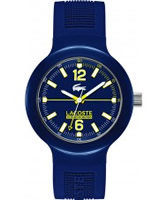Buy Lacoste Mens Blue Borneo Watch online