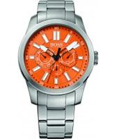 Buy BOSS Orange Mens Orange and Silver H-7000 Chronograph Watch online