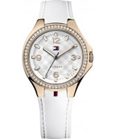 Buy Tommy Hilfiger Ladies White Toni Watch online