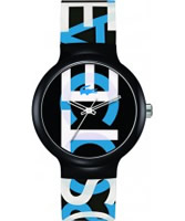 Buy Lacoste Black and Blue Goa Watch online