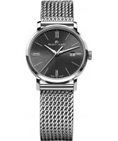 Buy Maurice Lacroix Ladies Black and Silver Eliros Watch online