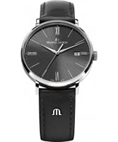 Buy Maurice Lacroix Mens Black Eliros Watch online