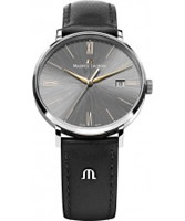 Buy Maurice Lacroix Mens Eliros Leather Strap Watch online