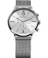 Buy Maurice Lacroix Mens Silver Eliros Chronograph Watch online
