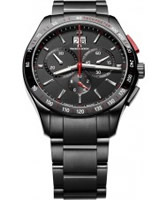 Buy Maurice Lacroix Mens Miros Black Chronograph Watch online