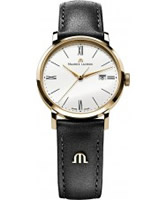 Buy Maurice Lacroix Ladies Rose Gold and Brown Eliros Watch online