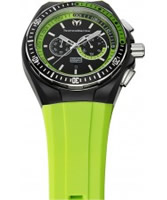 Buy TechnoMarine Cruise Sport Black Green Watch online