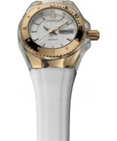 Buy TechnoMarine Cruise Original Gold White Watch online