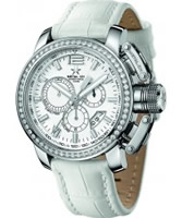 Buy Metal CH Mens Chrono White Watch online