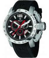 Buy Metal CH Mens Chronosport Black Watch online