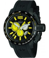 Buy Metal CH Mens Chronosport Yellow Black Watch online