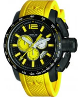 Buy Metal CH Mens Chronosport Yellow Watch online