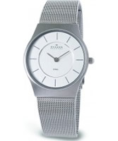 Buy Skagen Ladies Chrome Steel Klassik Mesh Watch online